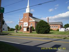 This used to be the northern Methodist Episcopal Church.