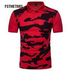 Men's Summer Shirt Short Sleeves Turn-down Collar Men Shirts Camouflage Shirts & Tops, Golf Shirts, Casual Shirts, Men Shirts, Casual Outfits, Fashion Casual, Men Casual, Mens Fashion, Camouflage