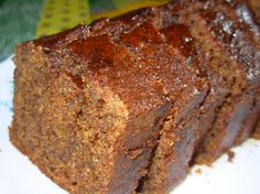 Just the smell of this gingerbread loaf whilst its baking is redolent of when I was a little girl and staying at my grandparents old cottage..........and, it is so easy to make. Plus, there are not many ingredients to it and yet, it is the recipe I always turn to when I feel like real old-fashioned sticky gingerbread! My grandmother used to serve it in thick slices with butter; it nearly always appeared on the tea table at least once a week! This is also wonderful served up as a Pudding type…