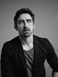 Lee Pace, photographed by Van Sarki for INTERVIEW, Dec 2014.