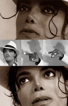 Michael Jackson modeling for Kent Twitchell