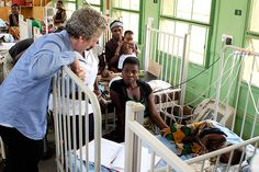 Peter Capaldi's Red Nose Day trip to Malawi –first pictures