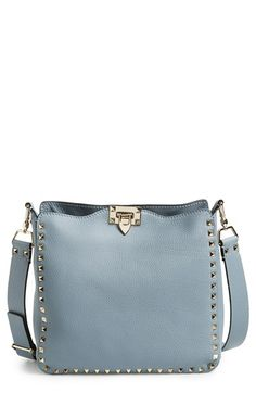 Valentino 'Small Rockstud' Leather Hobo