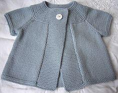 Ravelry: Little Daisy Cardigan pattern by Sublime Yarns Baby Knitting Patterns, Baby Cardigan Knitting Pattern, Knitting For Kids, Baby Patterns, Knitting Hats, Knit Baby Sweaters, Knitted Baby Clothes, Baby Knits, Crochet Baby