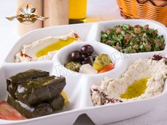 Bey Rock mixed Mezze platter consists of several must-try items. It is woody…