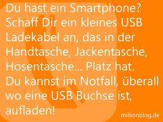 Unverzichtbar: Kleines USB Kabel