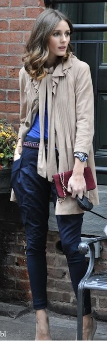 pants, so cute...#street style #olivia palermo