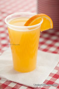 Tailgating Recipe: The Beermosa