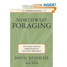 This or any other book on foraging for edible plants in the pacific NW