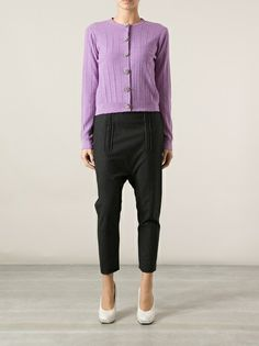 MARC JACOBS - ribbed cardigan
