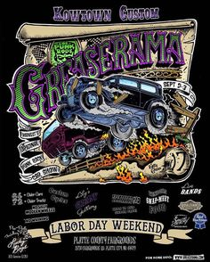 Labor Day weekend Kansas City. #Greaserama Be there.