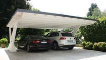 Find out all of the information about the Proverbio Outdoor Design product: wooden carport ARCO. Building A Carport, Carport Plans, Carport Garage, Pergola Carport, Pergola Patio, Pergola Plans, Carport Sheds, Vinyl Pergola, Building Plans