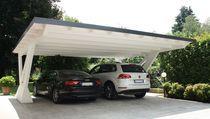Wooden carport / commercial