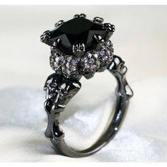 Skull Jewelry, Gothic Jewelry, Fine Jewelry, Skull Rings, Jewelry Rings, Jewellery, Western Jewelry, Hippie Jewelry, Black Gold Jewelry
