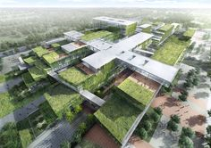Proposed Hainan Cancer Hospital, China by HASSELL Architects
