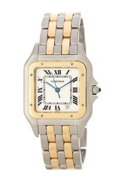 Vintage Cartier Panthere Two-Tone Quartz Watch