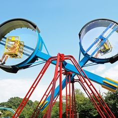 """""""Loopings"""" at Linnaeshof, billed as the world's biggest playground. ."""