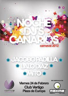 Jacobo Padilla Noche De Dj Canarios @Carnavaldetenerife2012