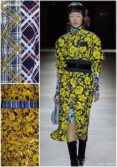 Kenzo – Fall 2017 – RTW – Paris Fashion Week – Print & Pattern Highlight | Patternbank