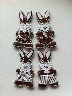 Velikonoční perníčky Spring Recipes, Gingerbread, Folk, Spring Food, Easter, Diy, Rabbits, Wafer Cookies, Popular