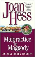 Malpractice in Maggody by Joan Hess:  Have the series....working on them