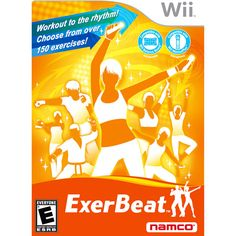 If you like to exercise at home using your Nintendo Wii, then you will love Exerbeat from Namco! I discovered Exerbeat on accident while rummaging through the discount video game pile at my local e… Wii Fit Games, Fun At Work, Going To The Gym, Workout Challenge, Burn Calories, Workout Programs, Fun Workouts, Fitness Tips, Have Fun
