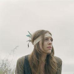 feather head dress