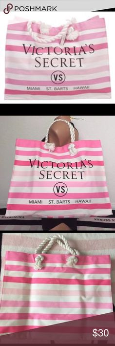 Victoria's Secret tote bag Cute tote bag perfect to go to the beach etc. no rips, no flaws etc. ❤️ please check my other listings! Thank you! PINK Victoria's Secret Bags Totes