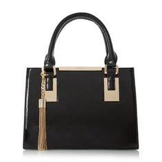 DINIDEEDEE - Mini Structured Top Handle Handbag c3ed72ed5ca38