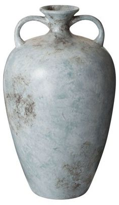 "20"" Starling Vase, Mottled Blue $104.00"