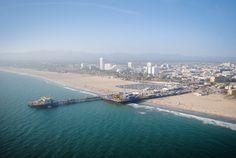 A linda Santa Monica! Photo by Clara Cajaiba