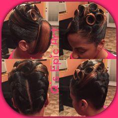 Black Bride. Wedding Hair. Natural Hairstyles. Ribbon Twist Bun | A Brideu0027s  Bridal Hair | Pinterest | Twist Bun, Black Bride And Africans
