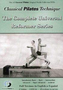 Classical Pilates Technique: The Complete Universal Reformer Series + Archival English & Spanish DVD Set: Introductory Basic; Archival) Classical Pilates, Inc. Pilates Workout Routine, Pilates Reformer Exercises, Pilates Barre, Pilates Studio, Pilates Video, Workout Dvds, Workouts, Classical Pilates, Joseph Pilates