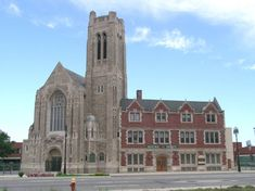 Trinity Evangelical Lutheran Church Complex – 1345 Gratiot Avenue: Not yet 100 years old, this Gothic Revival/Tudor Revival church was built in 1927 and added to the National Register of Historic Places in 1983.