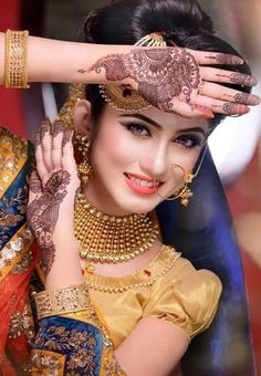 Top 10 10 Must-Try Latest Mehndi Movements For 2017 Portrait-Style Mehendi The marriage season is here and we are looking for various designs of Mehndi to complete the look and get a feel of enjoyi…