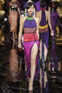 Bonnie Chen at Louis Vuitton S/S 2011.