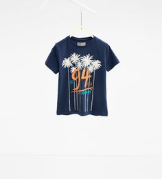 "ZARA - KIDS - "" 94"" T-shirt"