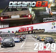Autódromo de Caruaru será invadido, novamente, por milhares de apaixonados por automobilismo. | Jornal de Caruaru