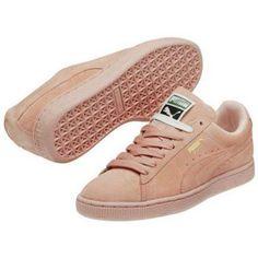 Baskets basses Puma Chaussures  Suede Mono Rose Pastel Basket Rose 69.90 €