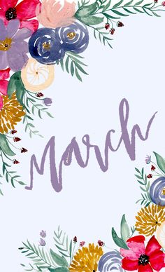 WILDFLOWERS BLOG: HELLO MARCH : MONTHLY DESKTOP DOWNLOAD
