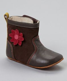Take a look at this Brown Vivienne Boot by See Kai Run on #zulily today!