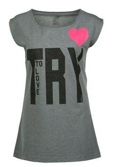 Colin's - T-Shirt print - grey melange