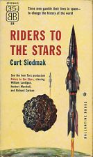 Curt Siodmak RIDERS TO THE STARS Movie Tie-In - First Printing