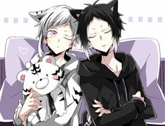 Anime Girl Neko, Cute Anime Boy, Anime Guys, Dazai Bungou Stray Dogs, Stray Dogs Anime, Nezumi No 6, Bungou Stray Dogs Atsushi, Yukine Noragami, Art Reference Poses