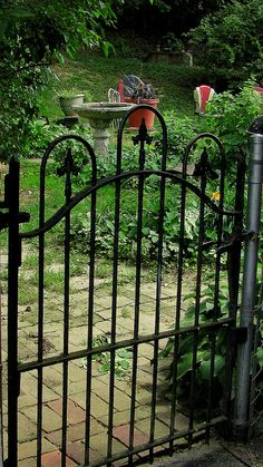 Old gates are great gates