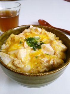 パパっと♪くずし豆腐のとろ~りチーたま丼 by ねっちゃんっ [クックパッド] 簡単おいしいみんなのレシピが237万品