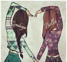 panic at the disco and twenty one pilots Girly M, Bff Drawings, Drawings Of Friends, Cute Best Friend Drawings, Bff Pictures, Pictures To Draw, Cute Pics To Draw, Cute Things To Draw, 365 Kawaii