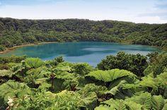 Lagune beim Vulkan Poas