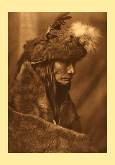 Tearing Lodge, Piegan. Photo by Edward S. Curtis. Courtesy of Library of Congress.
