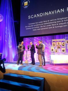 Mina vänner Niklas och Fredrik på Scandinavian photo tar emot priset som årets ehandlare på Nordic Ecommerce Summit. Gott Jobbat!
